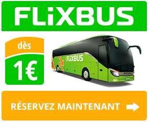 Voyager en car pour 1 euro avec Flixbus