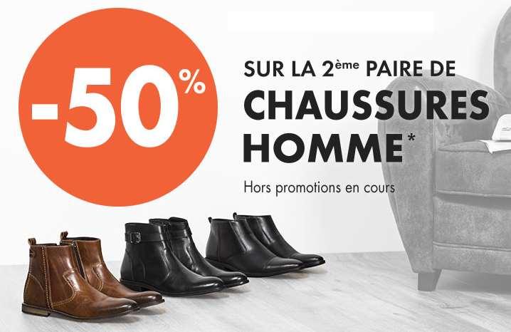 G mo chaussures hommes 1 paire achet e la seconde 50 - Gemo chaussure homme ...