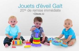 remise jouets d'éveil Galt