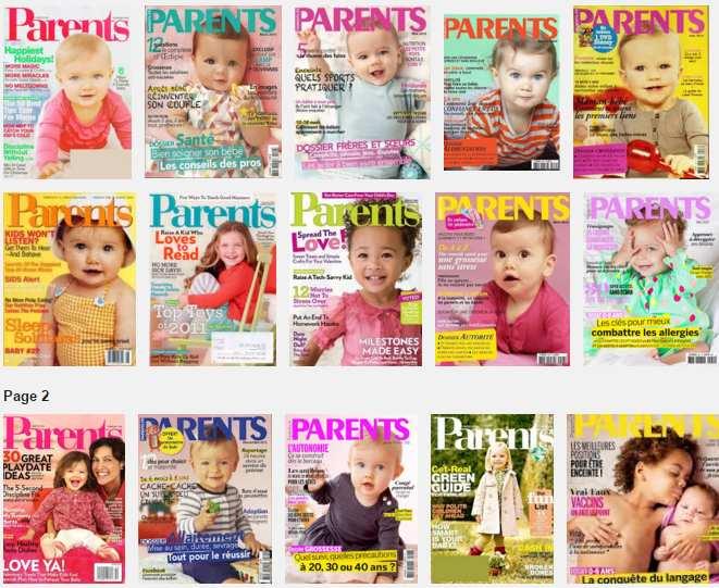Abonnement magazine Parents pas cher