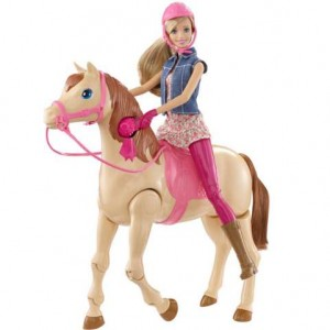 Barbie, Hop à cheval !