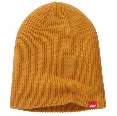 Bonet Vans marron tricot