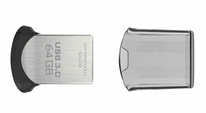 Clé USB 3.0 64 Go SanDisk Ultra Fit