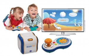 console storio tv vtech moins de 35 euros port inclus. Black Bedroom Furniture Sets. Home Design Ideas