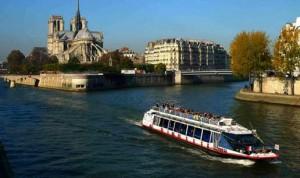 Croisière sur la Seine à moitié prix