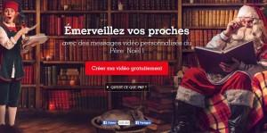 GRATUIT Vidéo personnalisée du père Noel