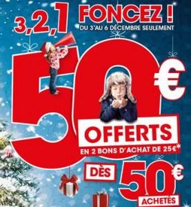 King Jouet 50 euros en bons d'achats