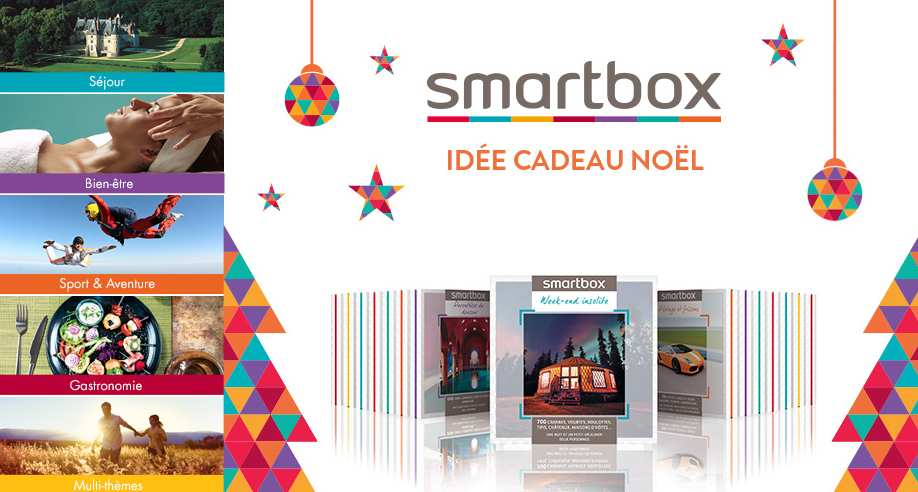 vente priv e smartbox entre 10 et 40 de remise sur les coffrets cadeaux bons plans malins. Black Bedroom Furniture Sets. Home Design Ideas