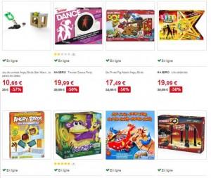 jeux sociétés sur Auchan