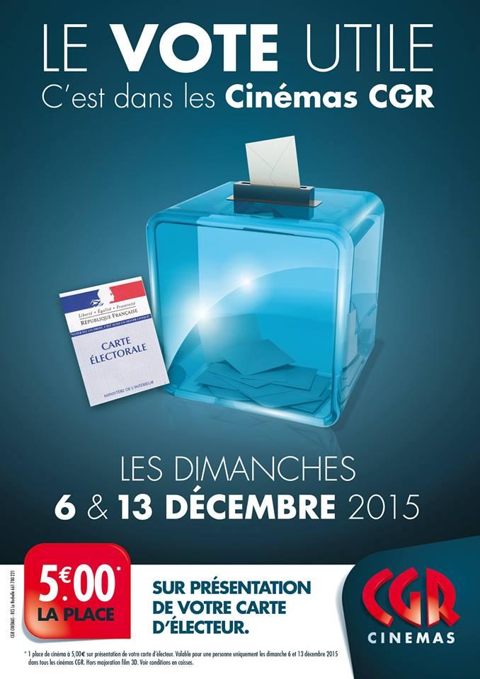5 la place de cin ma cgr sur pr sentation de sa carte d for Cid special bureau 13 feb 2015