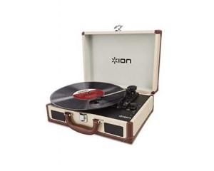 49 99 la platine vinyle ion portable avec hp int gr s convertisseur usb. Black Bedroom Furniture Sets. Home Design Ideas