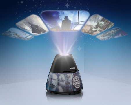 projecteur Philips Star Wars pas cher