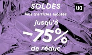 20% supplementaires sur les soldes Urban Outfitters