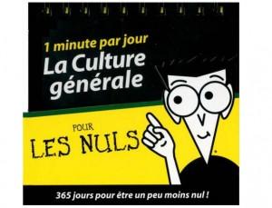 Culture générale pour les nuls gratuit