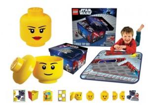 Boites de rangements Lego pas chères
