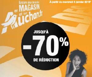 Catalogue des soldes Auchan