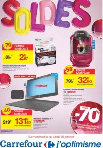 Catalogue des soldes Carrefour