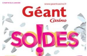 Catalogue des soldes Géant Casino