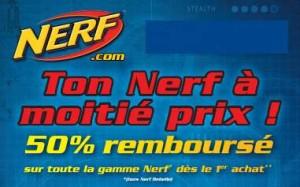 Offre de remboursement Nerf 2016