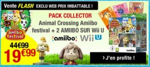 Pack Animal Crossing : Amiibo Festival