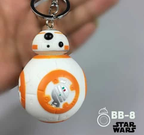 Porte-clés BB-8 à gagner