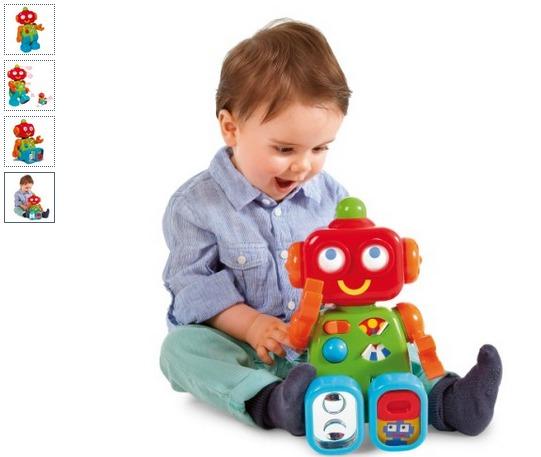 Robot d'activités Nino en soldes sur Oxybul