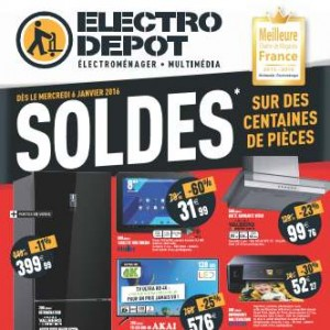 soldes electrodepot 2016 arrivage de high tech multim dia lectrom nager bons plans malins. Black Bedroom Furniture Sets. Home Design Ideas