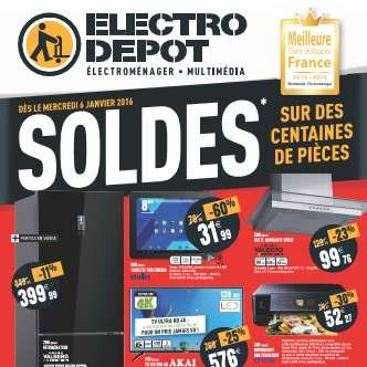 Soldes ElectroDepot 2016