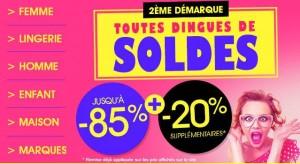 Soldes Excedence 2016