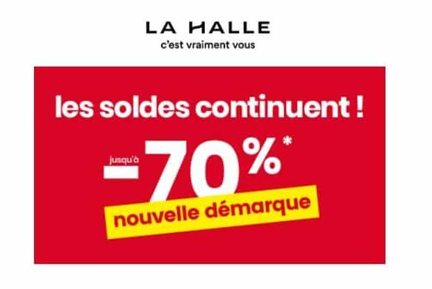 Soldes La Halle 2019 ! Nouvelle démarque