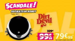 aspirateur robot Fusion M611 Dirt Devil