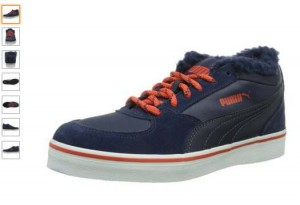 chaussures Sllyde Demi Vulc Puma en soldes