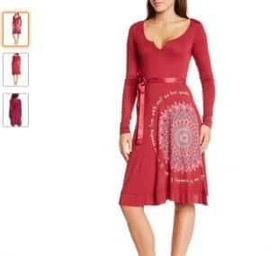 robe Martita Desigual en soldes à moins de 18€