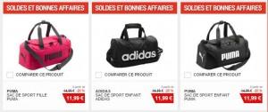 tous les sacs Adidas Puma en soldes