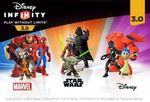 2 figurines Disney Infinity 3.0 offertes