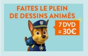 7 DVD jeunesse pour seulement 30€