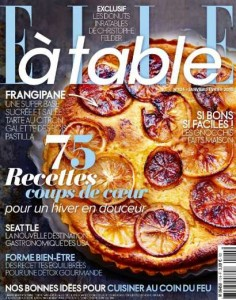 Abonnement magazine ELLE à table pas cher