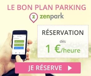 bon plan parking pas cher avec zenpark garez vous sur des parkings partag s bons plans malins. Black Bedroom Furniture Sets. Home Design Ideas