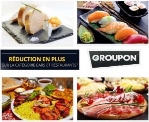 Bars et Restaurants Groupon