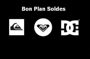 Bon plan Soldes Quiksilver Dc Shoes Roxy
