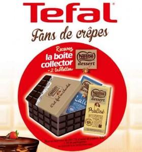 Chandeleur Tefal - Nestlé Dessert sur Amazon