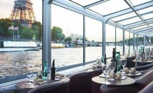 Croisière sur la Seine pour 2 personnes avec brunch