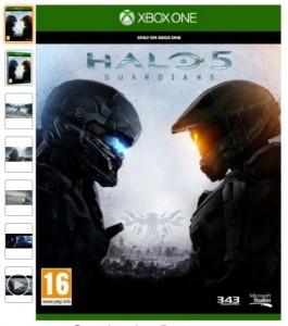 Halo 5 Guardians pour Xbox One pas cher
