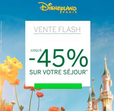 séjours Disneyland avec Carrefour Voyages