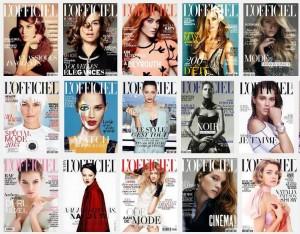 Abonnement magazine L'Officiel pas cher