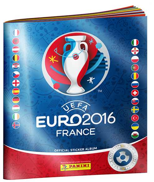 Album Panini Euro 2016