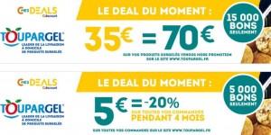 Bon d'achat Toupargel - CMesDeals Toupargel