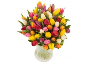 Bouquet de 40 tulipes moins cher