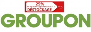 Déstockage Groupon