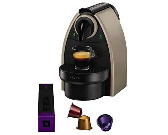 cafeti re nespresso krups essenza moins 30 port inclus les bons plans malins. Black Bedroom Furniture Sets. Home Design Ideas